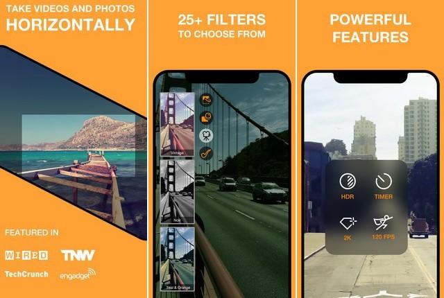 Horizon Camera - application de réalisation de film