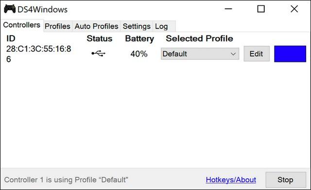 Logiciel DS4Windows
