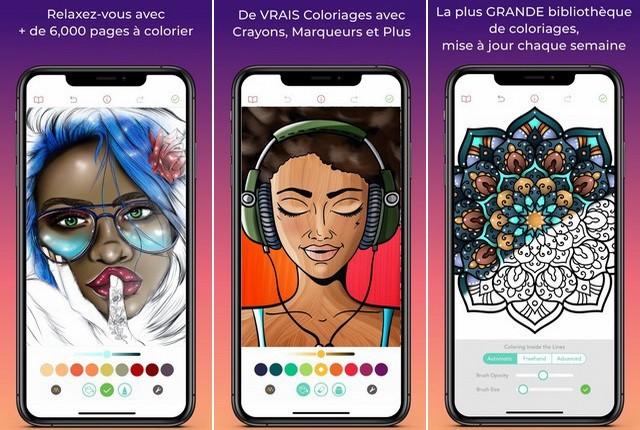 Pigment - application de coloriage pour iPhone