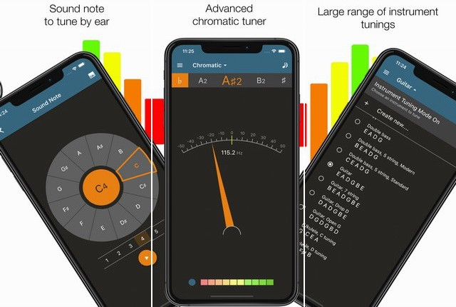 Pitched Tuner - applications accordeur de guitare