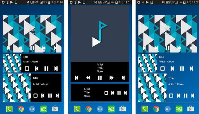 Plug In Music Widget