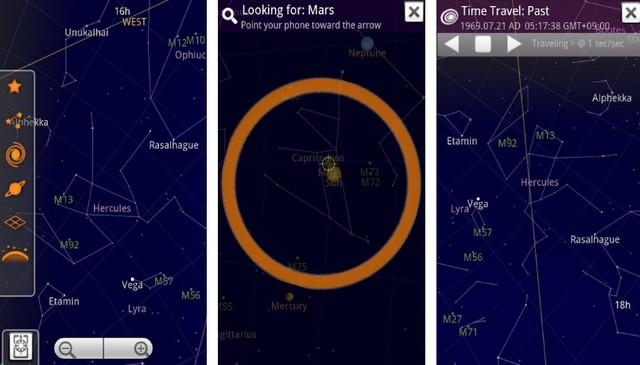 Sky Map - meilleure application de réalité augmentée