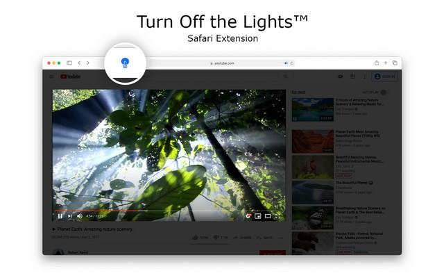 Turn Off the Lights for Safari