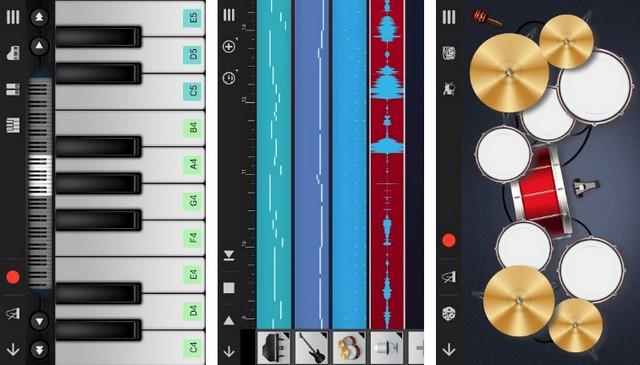 Walk Band - application de composition de musique