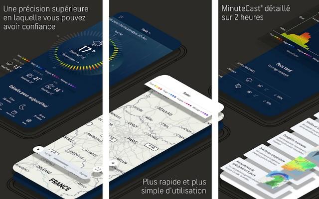 AccuWeather - applications de été pour Android