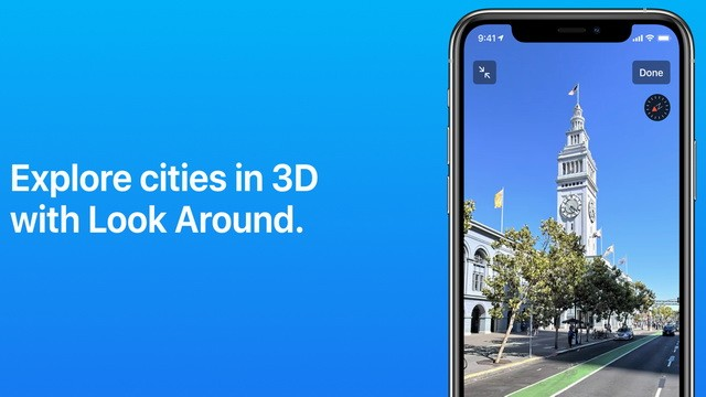 Apple Maps - meilleures applications de l'été