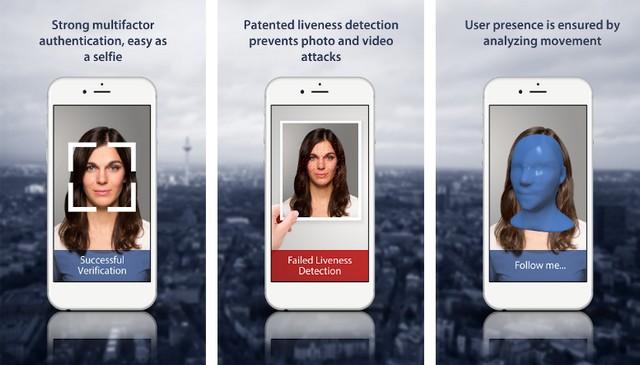 BioID - meilleure application de reconnaissance faciale