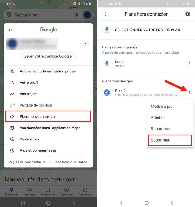Comment utiliser Google Maps hors ligne