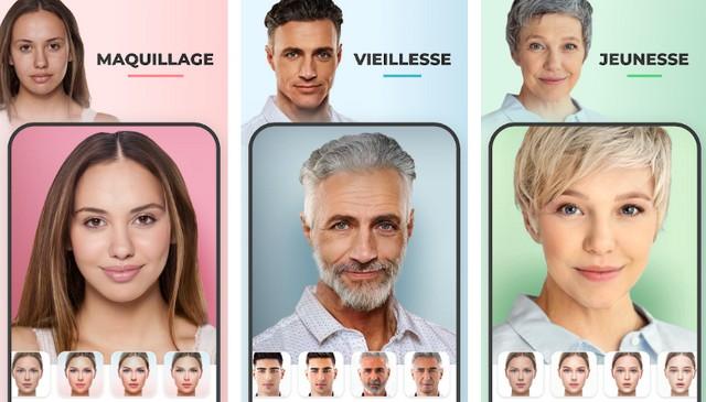 FaceApp - meilleure application de reconnaissance faciale