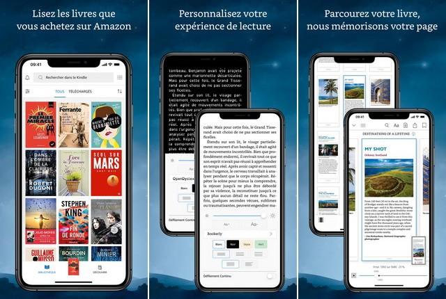 Kindle - meilleures applications de l'été