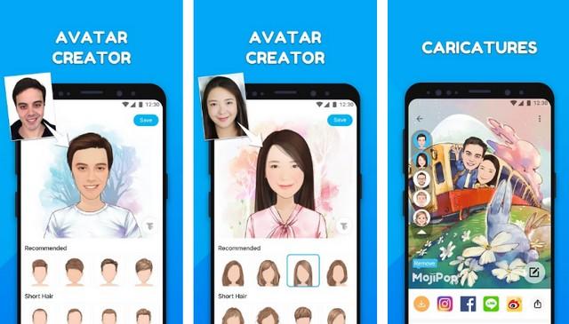 MojiPop - meilleure application de reconnaissance faciale