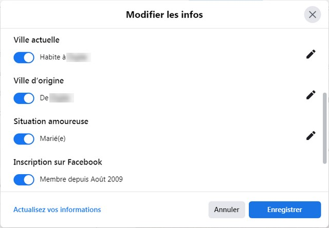 Make your Facebook account more private