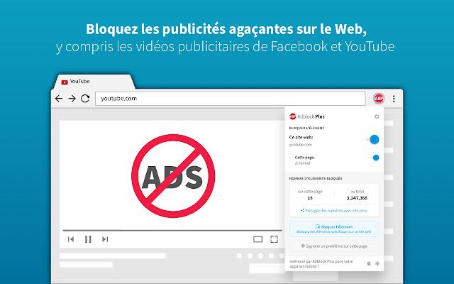 AdBlocker - rendre votre Google Chrome plus fonctionnel