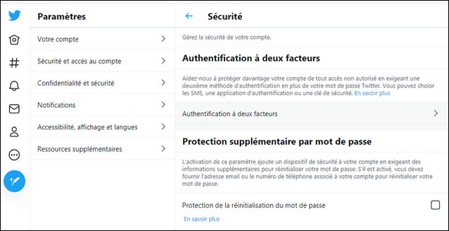 configure Twitter Two-Factor Authentication