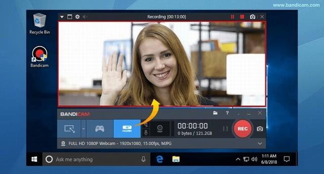 Bandicam - le meilleur logiciel de capture vidéo