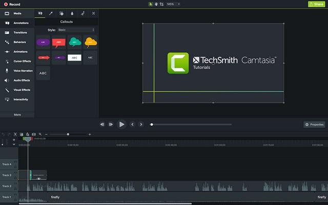 Camtasia - le meilleur logiciel de capture vidéo