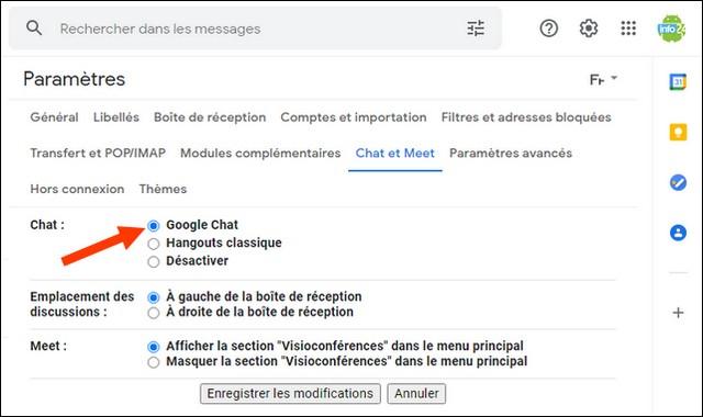 Comment activer Google Chat sur votre navigateur Web