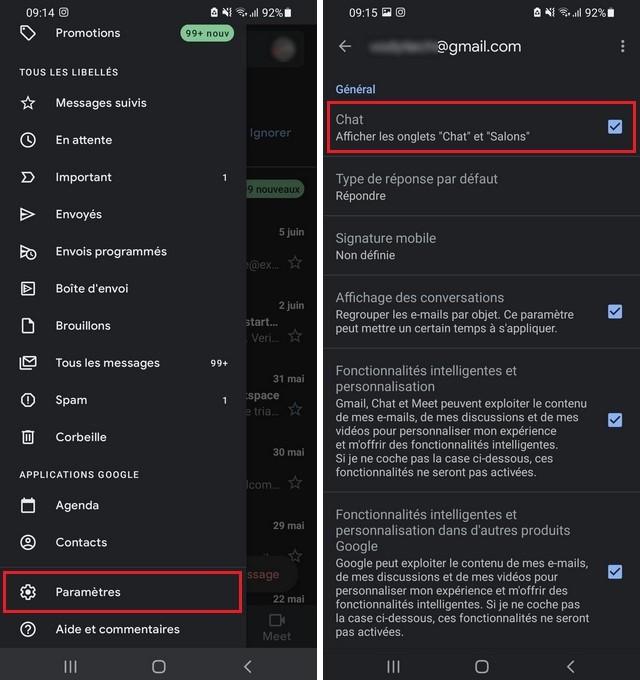 Comment activer Google Chat sur votre smartphone
