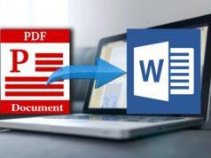 Comment convertir un fichier PDF au format Word