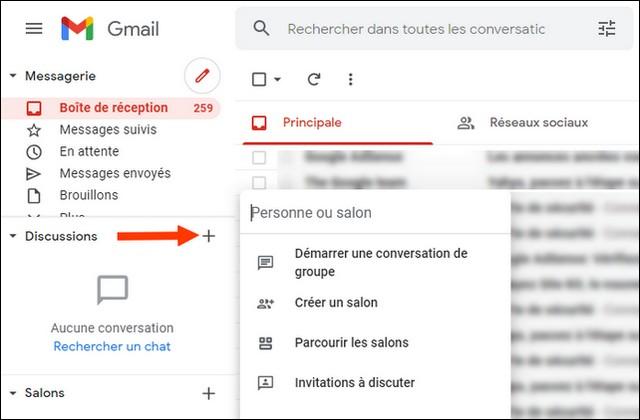 Comment utiliser Google Chat sur un navigateur Web