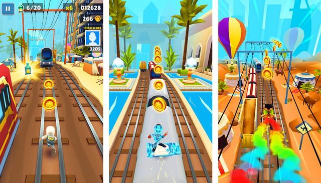 Subway Surfers - jeu comme Temple Run