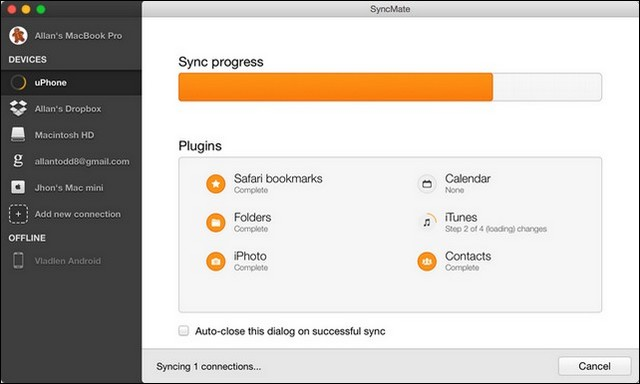 SyncMate - alternative à Android File Transfer