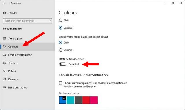 Accélérer PC Windows 10
