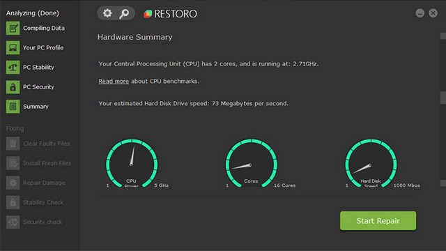 Restoro - best registry cleaner