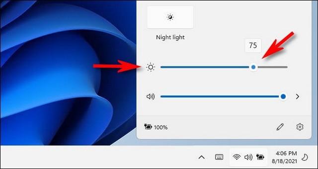 Comment changer la luminosité de l'écran
