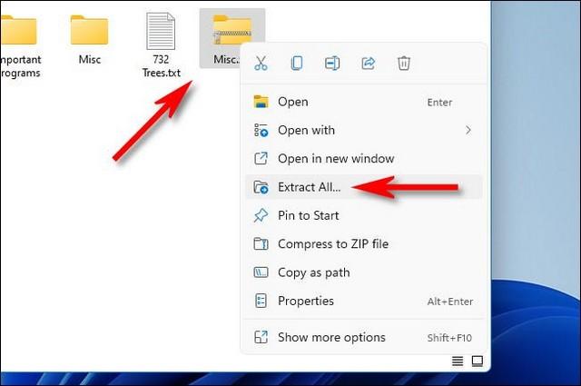 Comment décompresser un fichier zip