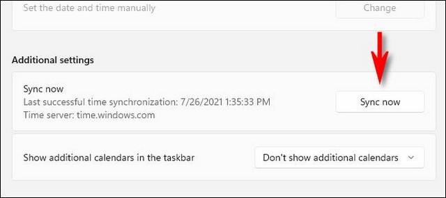 Comment modifier la date et heure sur Windows 11