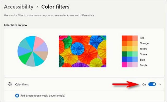 Comment utiliser les filtres de couleur