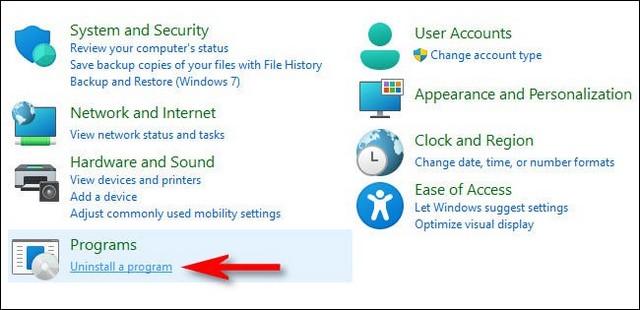 Désinstaller une application sur Windows 11
