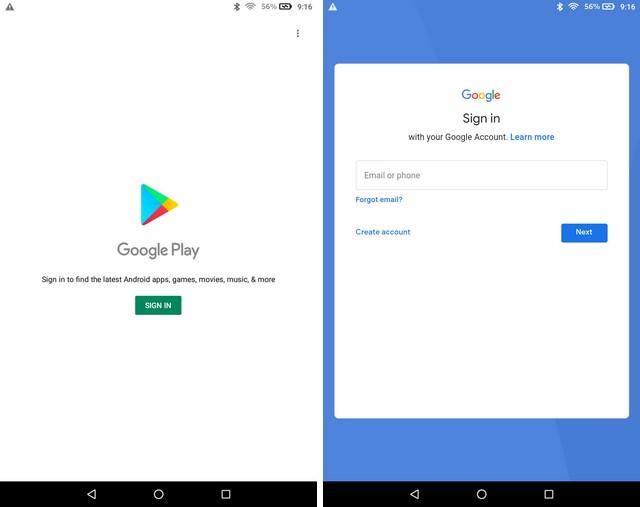 Installer le Google Play Store sur une tablette Amazon Fire