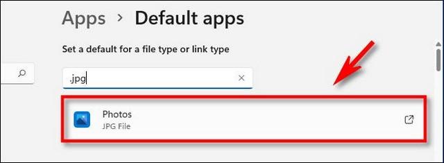 Modifier les applications par défaut sous Windows 11