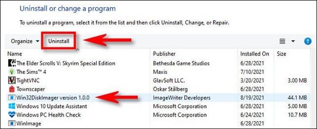 Panneau de configuration Windows 11