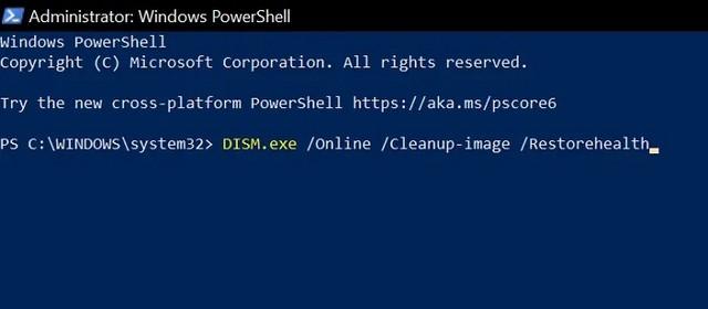 fix the WpnUserService-dll error