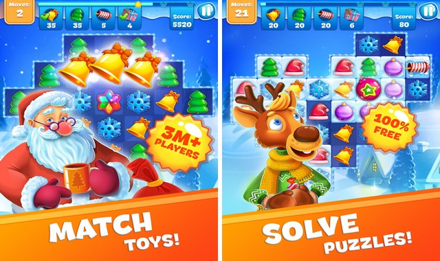 Christmas Sweeper 3 - meilleur jeu de Noël pour iPhone