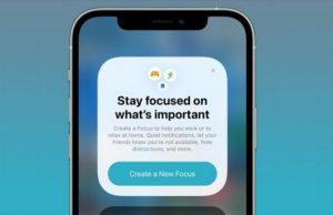 Comment activer et utiliser le mode Focus sur iPhone et iPad