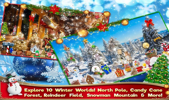 Hidden Object Christmas Puzzle