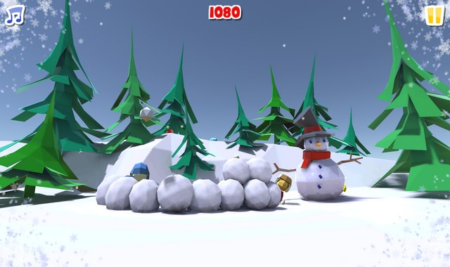 Snowball Fight Winter Game